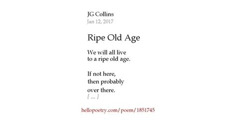 the brain by jg collins hello poetry ripe age by jg collins hello poetry