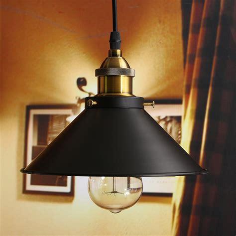 Ebay Pendant Light Retro Industrial Vintage Hanging Iron Ceiling L Pendant Light Fixture Bedroom Ebay