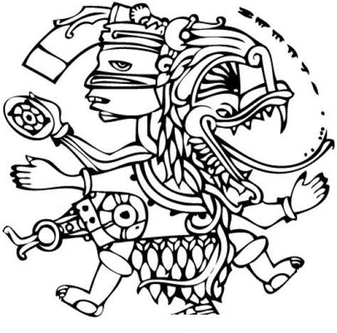 imagenes de los mayas para imprimir dibujomaya para pintar y colorear un dibujo maya