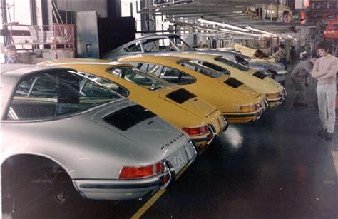 Porsche Factory Tour by Porsche Factory Tour C 1972 A Continuous Lean