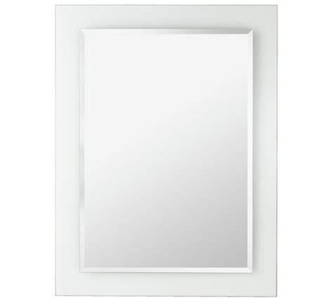 buy home clear border bathroom mirror at argos co uk