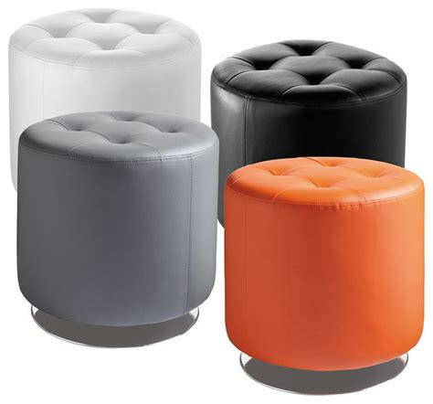 Sunpan 'Domani' Swivel Ottoman Small Contemporary Footstools And Ottomans by Overstock.com