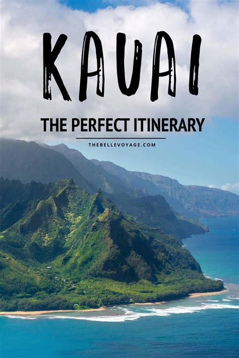 hawaii travel bureau the kauai itinerary for visitors to the