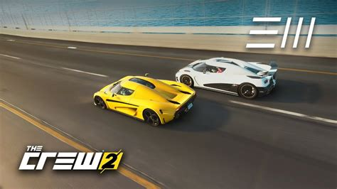 koenigsegg crew the crew 2 koenigsegg regera vs agera r which is the