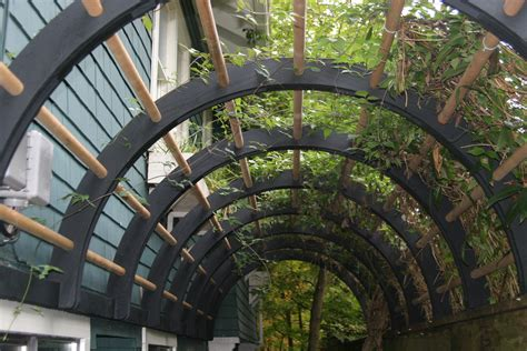 Garden Arbor Tunnel With Trowel Pergola Arbor Or Tunnel Kitsilano Ca