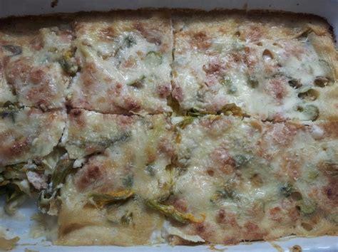 lasagne ai fiori di zucca ricetta lasagne ai fiori di zucca