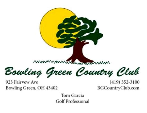 Bowling Green Mba Ranking by Bowling Green Country Club In Bowling Green Ohio