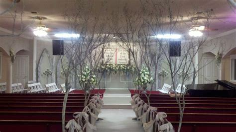 wedding chapel decor fairytale weddings pinterest