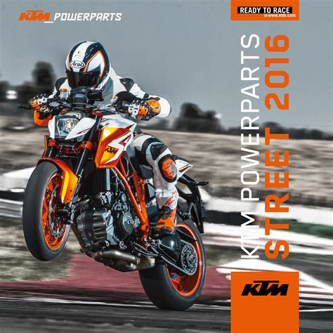 Ktm Parts Dealer Ktm Powerparts Catalog 2016 Usa By Ktm