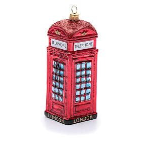 cabina telefonica inglese vendo cabina telef 243 nica ingl 233 s adorno vidrio soplado 193 rbol de