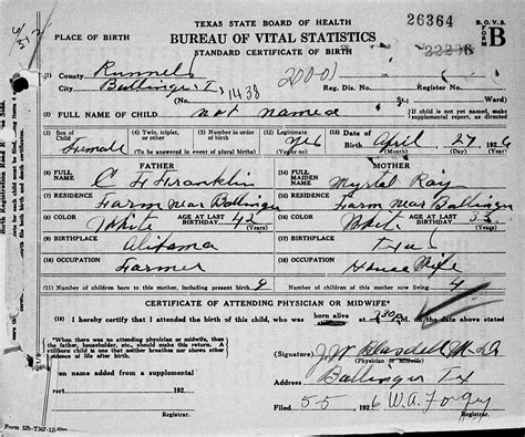 Oklahoma Birth Records New Photos Of Oklahoma Birth Certificate Request