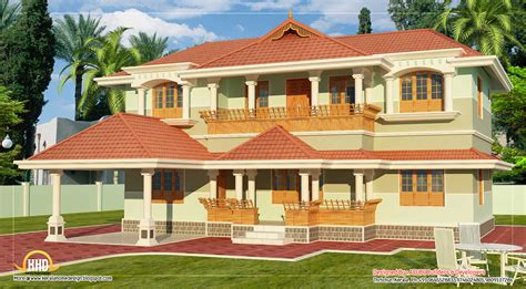 kerala style  story home design  sq ft indian