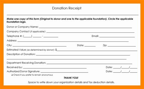 tax deductible receipt template australia 48 fresh collection of tax deductible donation receipt