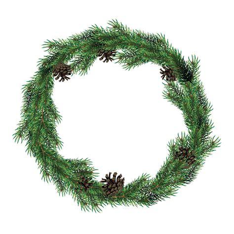 christmas wreath  fir branches  cones green spruce christmas wreath