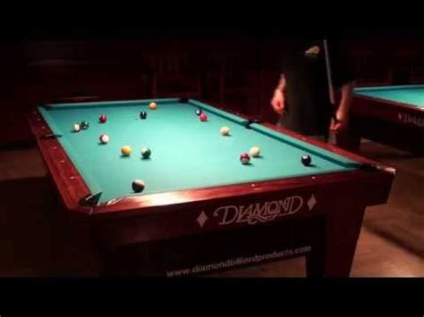 paul smith how to level a diamond billiard table