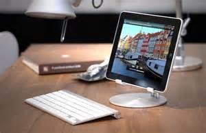 Imac Desk ipad setups simple ipad and keyboard workstation