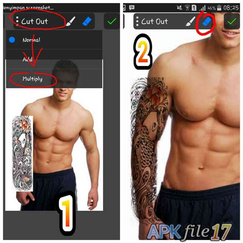 tutorial picsay pro tatto tutorial cara membuat tatto dengan picsay pro di android
