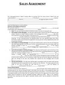 sales agreements templates sales agreement template cyberuse