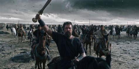 film perang israel video trailer exodus gods and kings film perang nabi