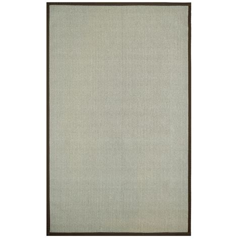 lanart rug sisal brown 8 ft x 10 ft area rug the home