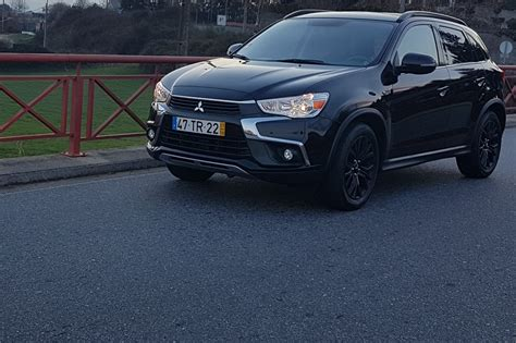 mitsubishi black mitsubishi asx black edition tv europa