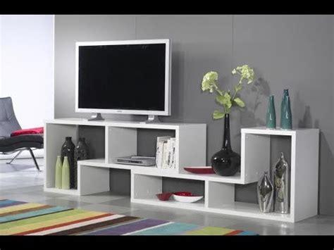 desain meja tv dari triplek desain rak tv dari triplek unik dan simpel youtube