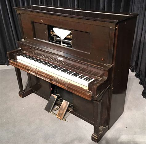 player piano aeolian upright player piano antique piano shop