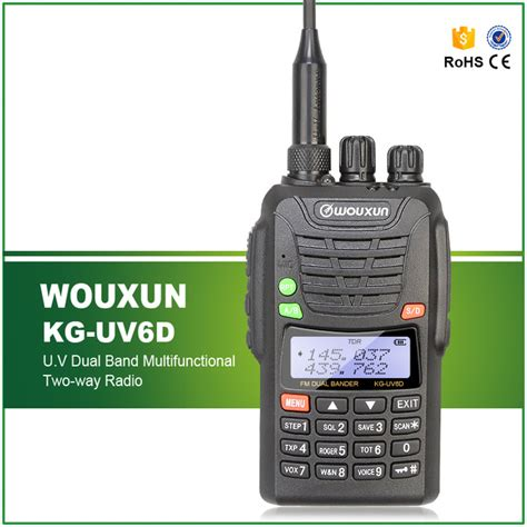 Wouxun Walkie Talkie Two Way Vhf Uhf 999ch Large Display Kg Uv8d new original wouxun kg uv6d dual band vhf uhf professional fm two way radio wouxun kg uv6d