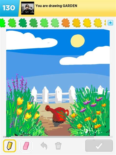 garden drawings how to draw garden in draw something the best draw something drawings and