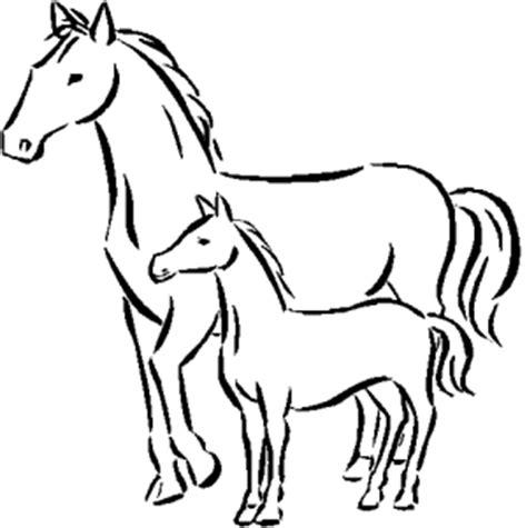 imagenes para colorear un caballo caballos para colorear