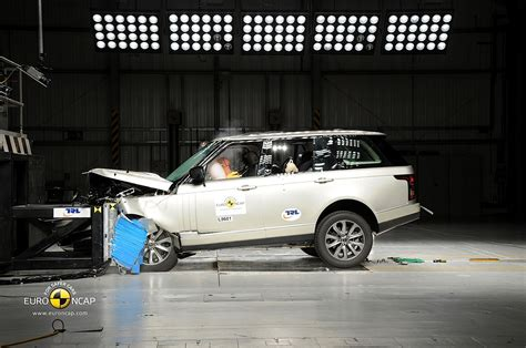 Range Rover Crash Test Ratings by New Range Rover Receives 5 Ncap Rating