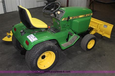deere 210 mower engine tractor engine and