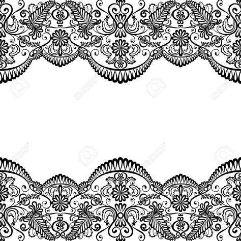 Free Lace Template Card by Template For Wedding Invitation Or Greeting Card With