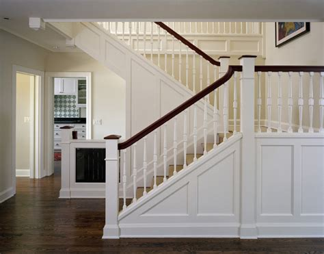 stair case conard romano architects traditional staircase