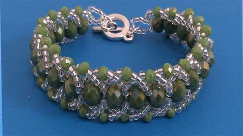 como hacer pulseras con perlas como hacer pulseras con chaquira youtube