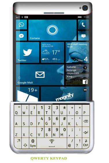 Nokia Lumia Qwerty microsoft lumia 975 concept qwerty keypad