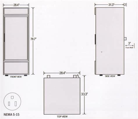 refrigerator dimensions fridge dimensions www imgkid com the image kid has it