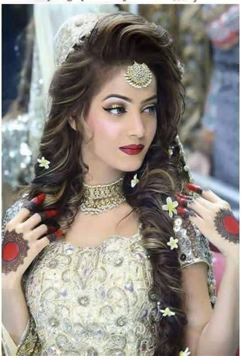 pics of pakistani hair styl amazing and trendy wedding hairstyles for pakistani brides