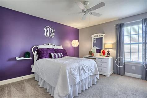 purple accent wall bedroom purple accent wall bedroom home design