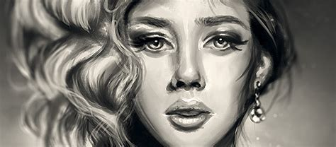 Draw Yourself photoshop tutorial how to create a digital portrait