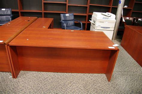 cherry l shaped desk cherry right hand executive l shaped desk
