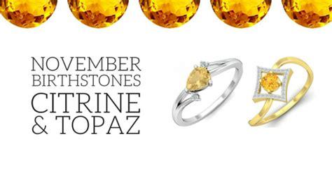 birthstone color for november the november birthstone citrine topaz kuberbox