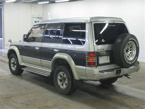 how cars run 1995 mitsubishi montero head up display used 1995 mitsubishi pajero photos 2800cc diesel automatic for sale