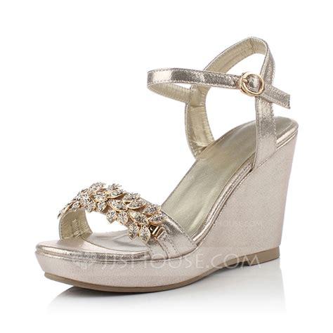 New Arrival Jr Wedges Shos B 38 leatherette wedge heel sandals wedges peep toe with