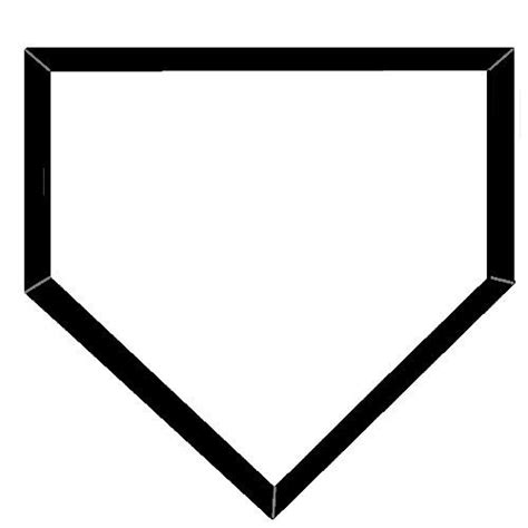 home plate baseball softball home plate clip art 21