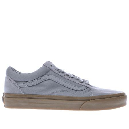 Vans Oldskool Grey Gum mens grey vans skool light gum trainers schuh