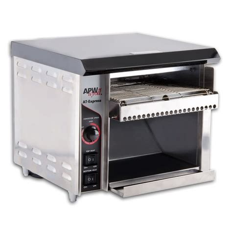 Conveyor Toasters 120v apw wyott at express conveyor toaster with 1 1 2 quot opening atexpress