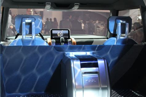 land rover dc100 interior frankfurt live land rover defender dc100 sport concepts