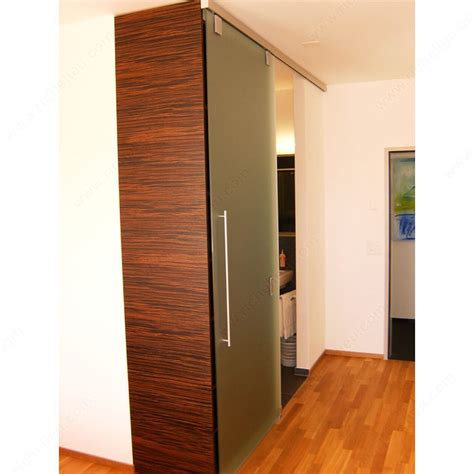 Interior Sliding Door System Hawa Junior 80 Gp Top Hung Sliding System For Glass Doors With Patch Fitting Richelieu Hardware