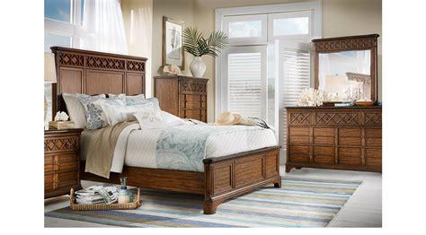 queen bedroom set huntington beach furniture bondi beach brown 5 pc queen panel bedroom transitional